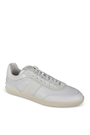 SIDE LOGO SNEAKERS IN WHITE TOD