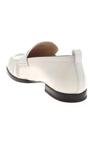 PENNY BAR LOAFERS IN WHITE TOD
