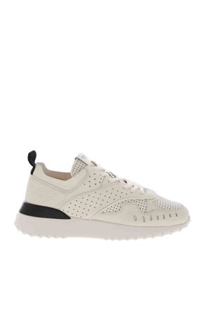 SNEAKERS COLOR AVORIO TRAFORATE XXW80A0W590RMAB001 TOD