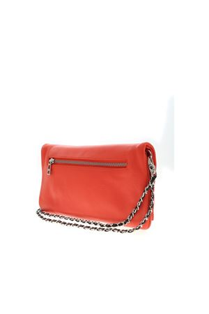 SHOULDER STRAP CLUTCH BAG IN RED ZADIG&VOLTAIRE | 10000014 | SKAP2001FFOU
