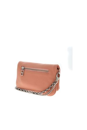 LOGO CLUTCH BAG IN POWDER PINK ZADIG&VOLTAIRE | 10000014 | SKAP2037FDOLY