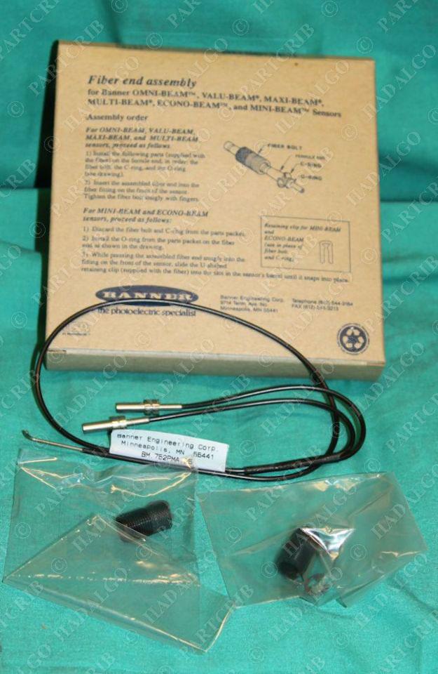 Banner BM.753SM2 Fiber Optic Sensor Cable 17252 Free Shipping! New