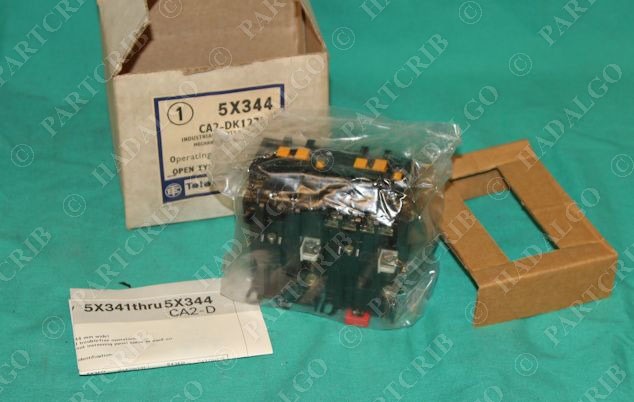 5X344 CA2-DK122K Contactor Relay Mechanically Latched Reversing Telemecanique