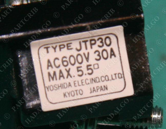 Yaskawa Yoshida Electric JTP30 Terminal Block 12 position 30a 600v Wiring Wire