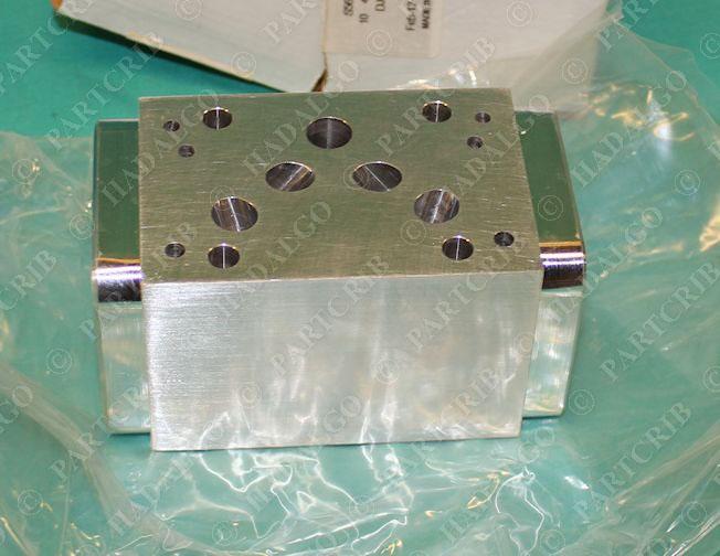 Sun Hydraulics DJY OBE I-A2 Solenoid Valve Manifold Block S56679 10 44900  NEW