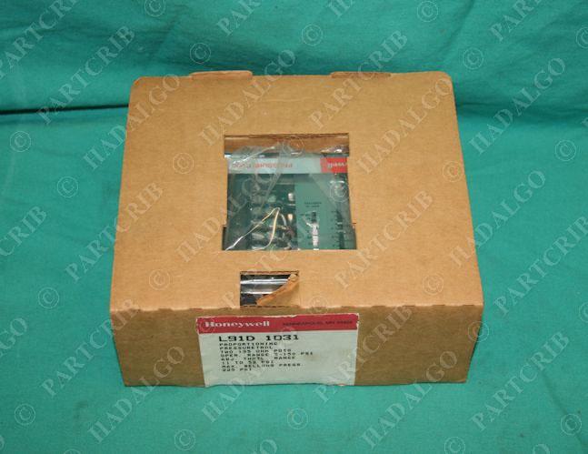 Pressuretrol  Controller Proportioning Pressure Switch Honeywell L91D 1031