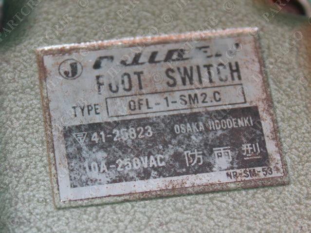 Foot Switch 10A 250VAC NEW OFL-1-SM2.C Ojiden
