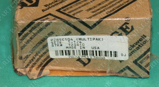 """Dodge Pillow Block Bearing 1 1//4/"""" 1.25/""""  P2BSC104"""