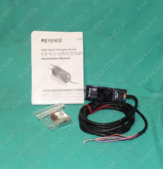New KEYENCE Fiber Optic Sensor CZ-V21AP