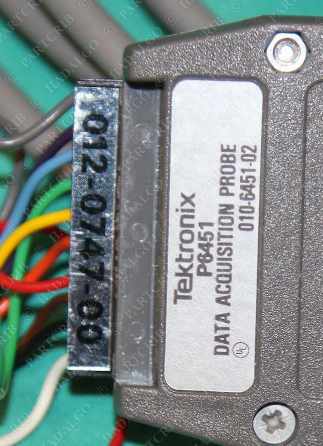 Tektronix P6451 Data Acquisition Probe w// Minigrabber 012-0747-00 010-6451-02