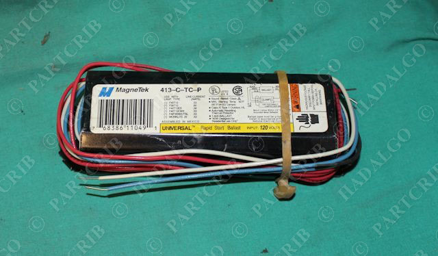 REPLACEMENT BALLAST FOR UNIVERSAL 413-C-TC-P