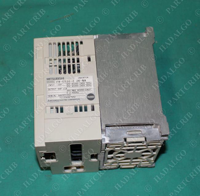 Mitsubishi, FR-E520-2 2K-NA, Inverter 2 2kw 3HP VFD Drive NEW