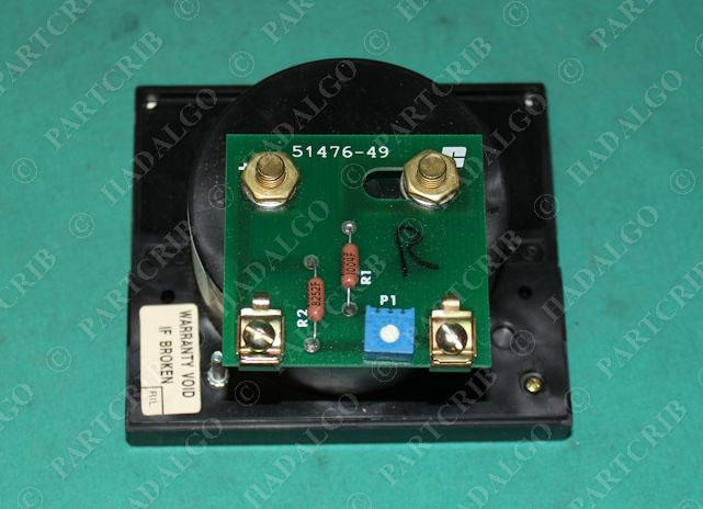 612233-5SB FTM Feet Per Minute Speed Indicator 0-5 51476-49 Reliance Electric