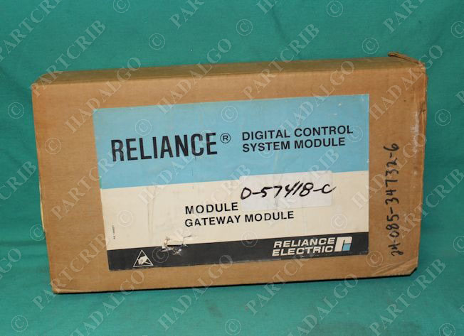 Reliance Electric, 0-57418-A, A/B Interface Module NEW