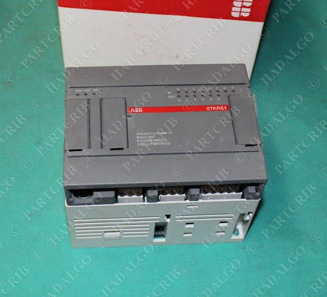 ABB, 1SBP260014R1001, 07KR51-A3 6, CPU PLC Advant Controller