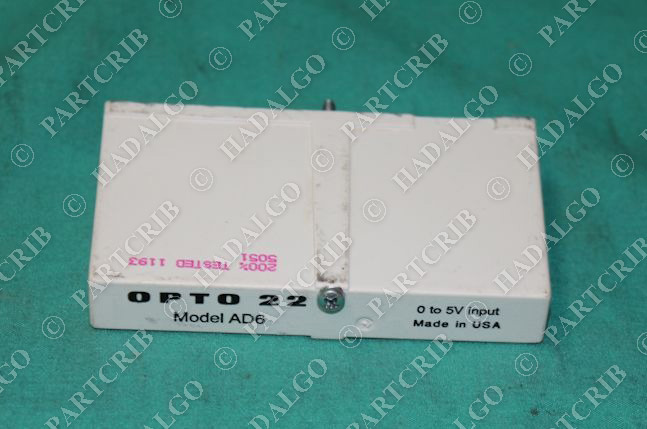 Opto 22, AD6, AD-6, I/O Analog Digital Module 0-5V NEW
