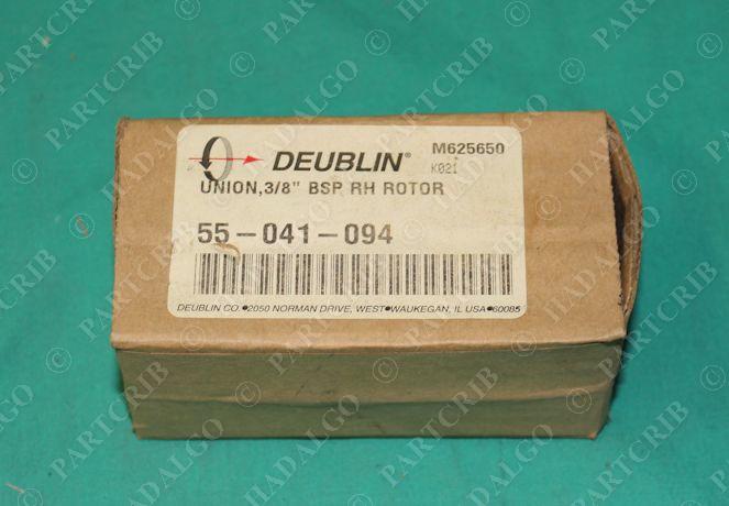 Deublin, 55-041-094, Monoflow Rotary Hydraulic Union 3/8: BSP RH Rotor NEW