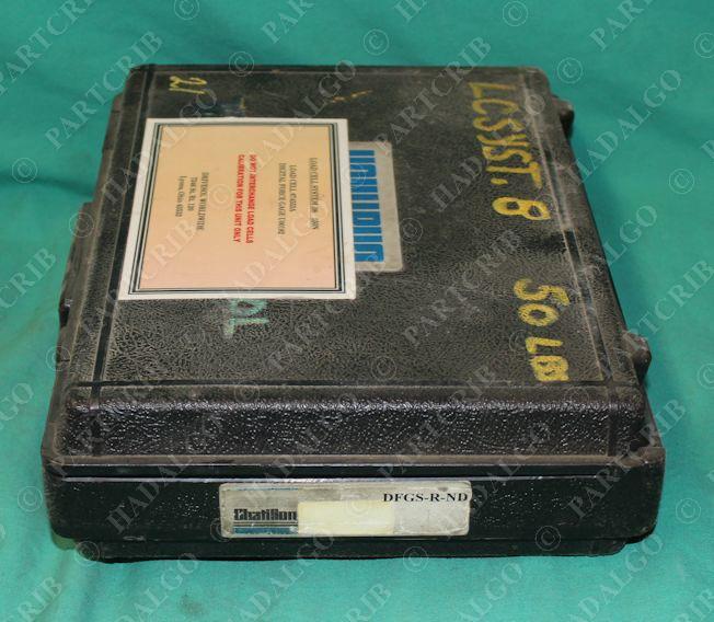 Chatillon Dfgs R Nd Slc 0050 Digital Force Gauge W