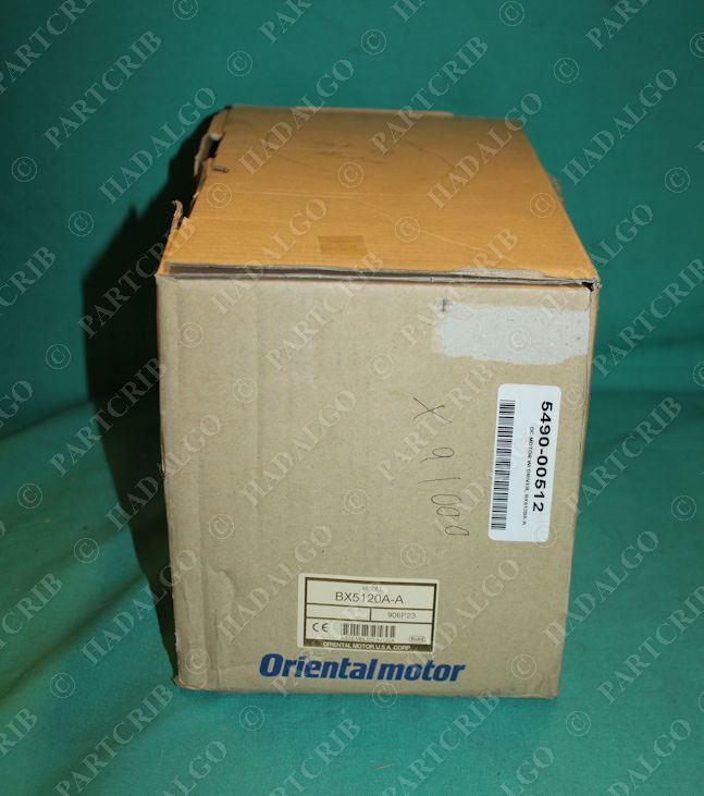 Oriental Motor, BX5120A-A, BXM5120-A2, BXD5120-A, Brushless DC Motor Control System Drive Servo NEW