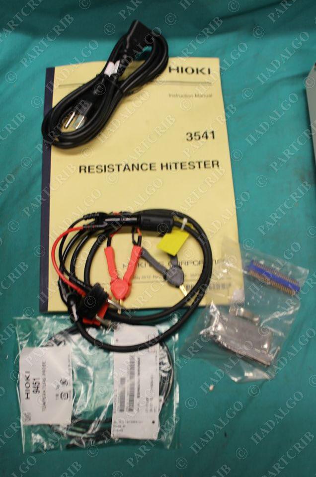 Hioki, 3541, Resistance Hi-Tester HiPot Pot 100V-240V