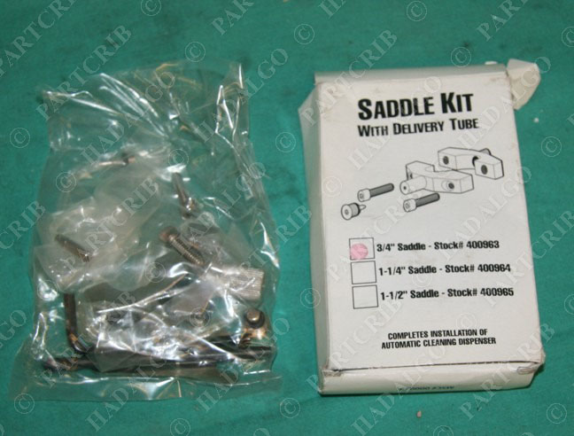 """Saddle Kit delivery tube 1 1//2/"""" 400965 drill thru NEW IN BOX"""