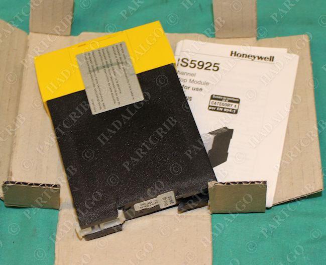 Honeywell FF-SRS59252 Dual Channel Emergency Stop Module 24v-ac