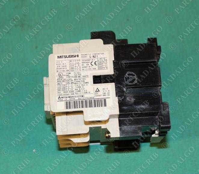 Contactor Relay Starter  120VAC Mitsubishi S-N21-AC120V