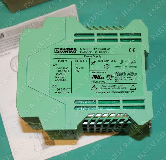 Phoenix Contact, MINI-DC-UPS/24DC/2, 28 66 64 0, Power Supply