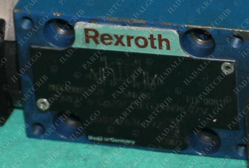 Rexroth, 3DREP-6C-20/25EG24N9K4/V, R9000929529, Directional Solenoid  Hydraulic Valve