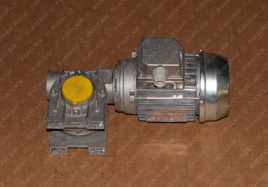 SITI, H63 B/4, 2360402, 260/440v 1620rpm Electric Motor Gear Reducer Worm Drive