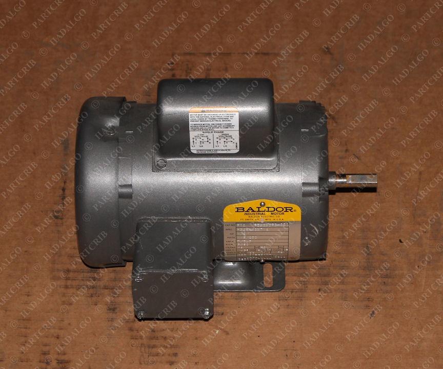 Baldor, M34H640X716, M1A 95828390-001, 1/2hp 115/230v 3450rpm .5hp Electric Motor