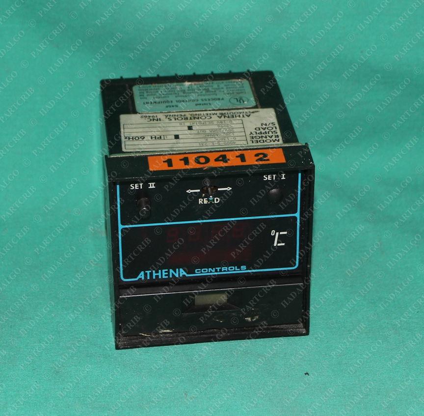 Athena Controls, 4000-S-E-231, Temperature Controller
