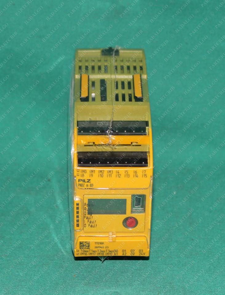 Pilz, PNOZ m B0, 772100, Configurable control system PNOZ multi 2 base module