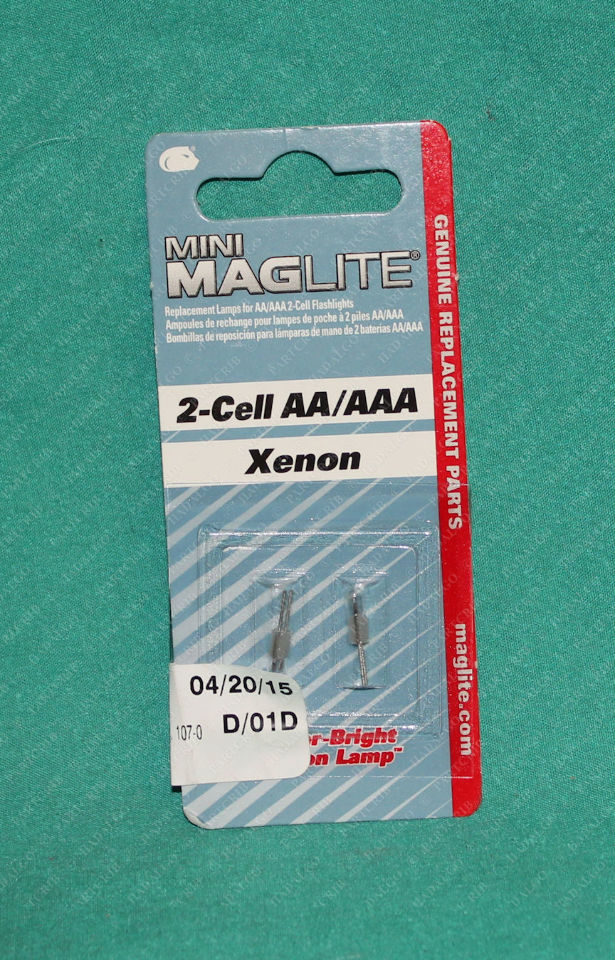Mini Maglite, 107-000-619, 2-Cell AA Mini Maglite Xenon Lamp