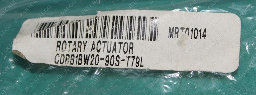 SMC, CRB1BW20-90S, Air Pneumatic Rotary Actuator 100psi