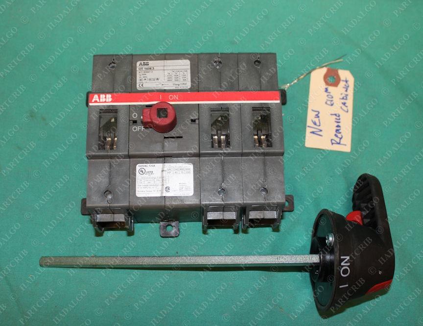 ABB, OT 160E3, OT-160E3, Disconnect Switch