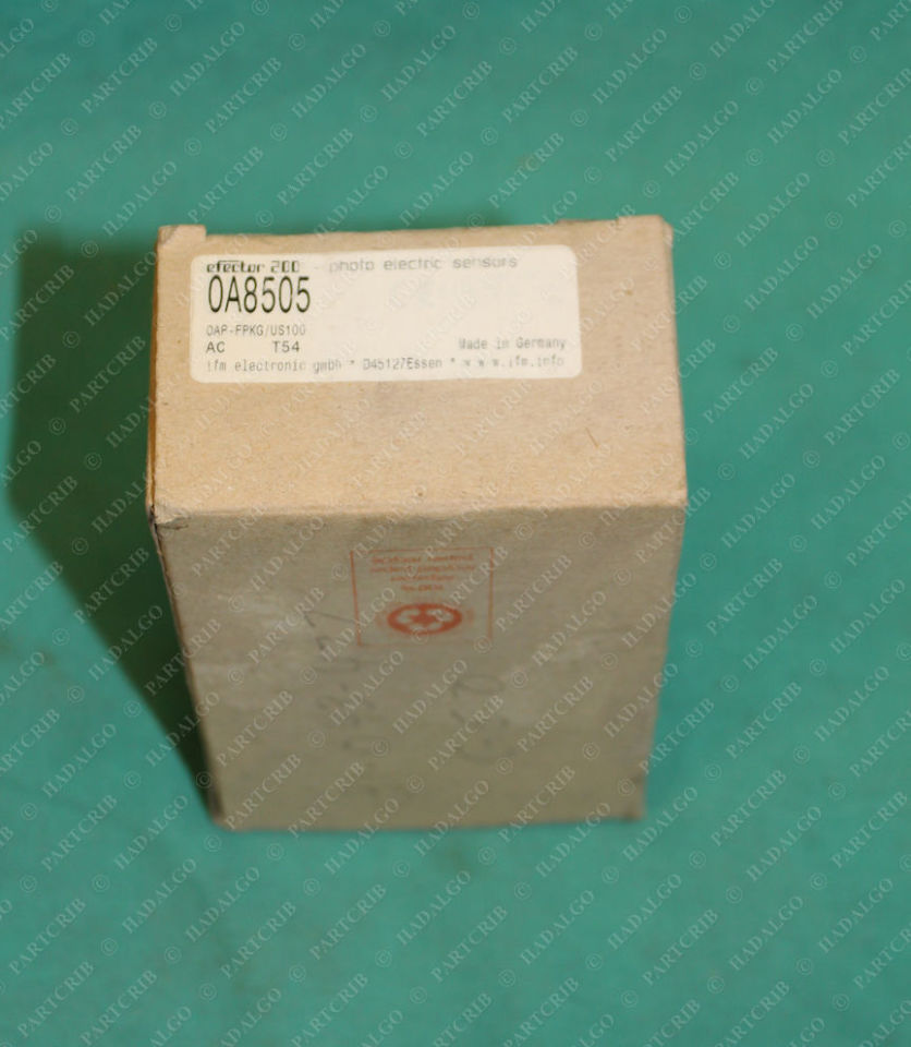 IFM, 0A8505, OA8505, OAP-FPKG/US100, Efector Photoelectric Sensor Switch