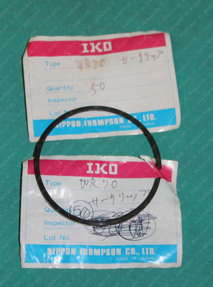 IKO, WR70, Lock Ring Snap Retaining Holding Stop Bearing