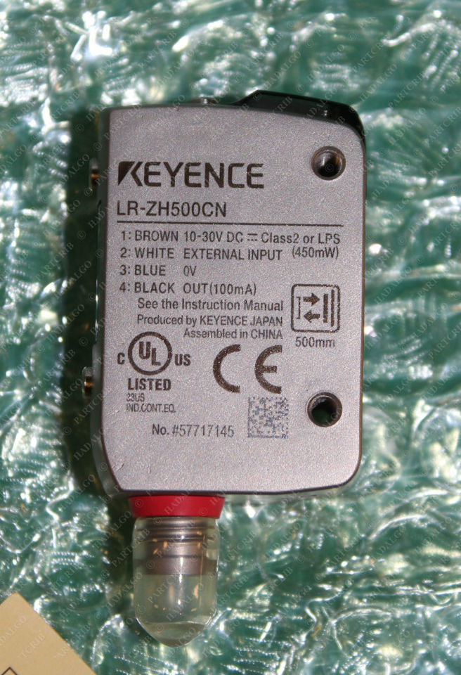 Keyence, LR-ZH500CN, Self Contained CMOS Laser Sensor Photoelectric Eye