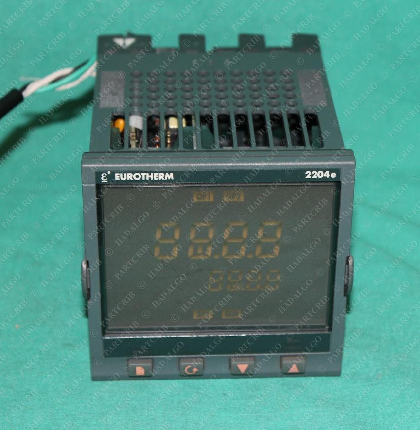 Eurotherm, 2204e/CC/VH/H7/XX/DB/XX/XX/2YE/ENG, Digital Temp Temperature Controller Control