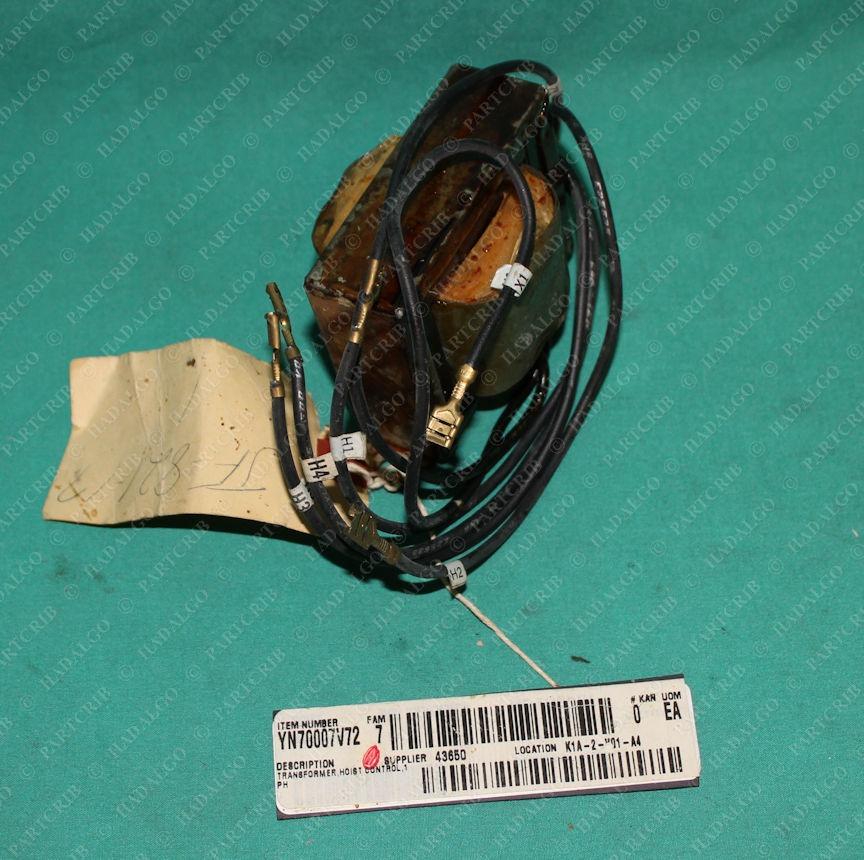 Coffing Hoist, JF-821-17, 821J432, 499030, Hoist Control Transformer Tyco