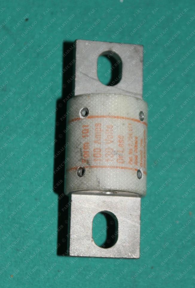 Shawmut, A13X100,  A13X100-4,  A13X1004, Amptrap Type 4 Fuse 100a 100 Amp Gould Ferraz