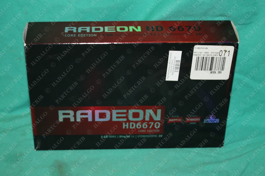 Radeon, HD6670, 2gb Ram Card Graphics Core Edition 2GB