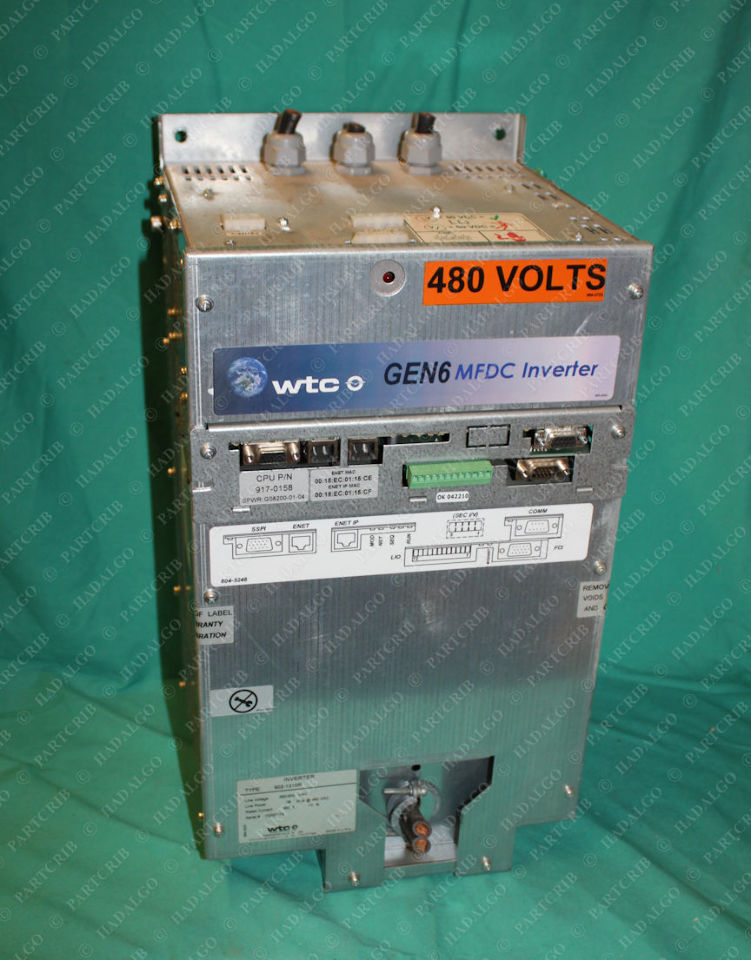 WTC, 902-1310R, GEN6 MFDC Inverter 480V Spot Welder Power Source Welding Weld