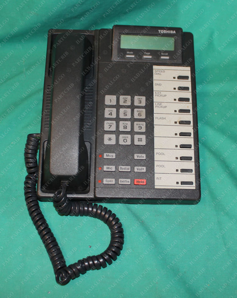 Toshiba, DKT2010-SD, Digital Business Telephone Used Working Condition