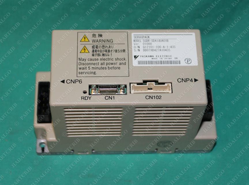 Yaskawa Electric, SGDR-SDA140A01B, Servopack Motoman Robot Drive Inverter Servo Motor