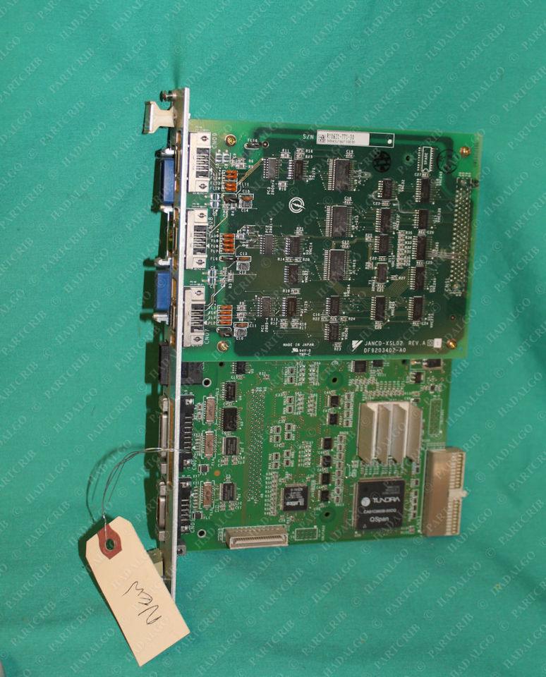 Yaskawa, JANCD-XSL02, XCP02B, PC Board