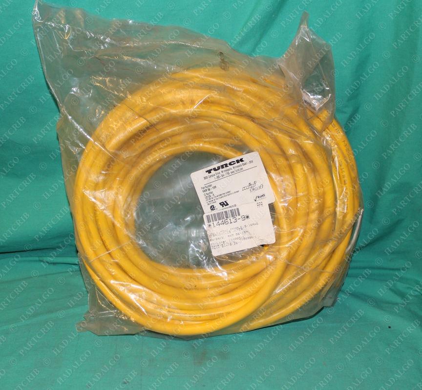 Turck, RKM 56-15M, U5126-5, Mini Cable Female 5/16AWG Cordset 5p 5 Pin