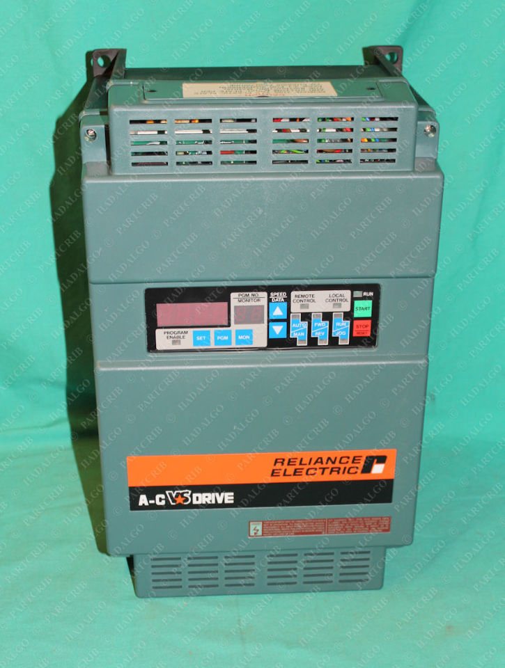 Reliance Electric, GP-2000, 2GU41007, 7.5hp VFD Inverter Amplifier AC Drive