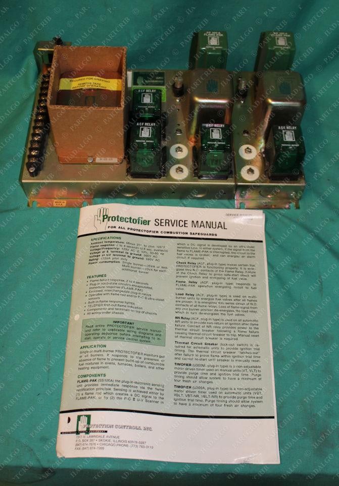 Protection Controls, 6642-VBLT, M4102, Protectofier
